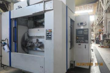 CNC - machining center - horizontal - double - spindle - 4 Axis