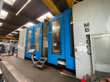 CNC - traveling column milling machine - 7 Axis