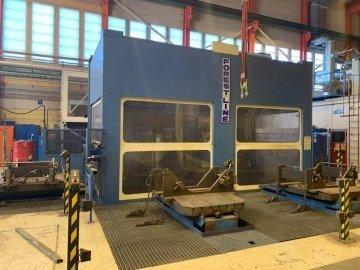 CNC - machining center - horizontal - 4 Axis
