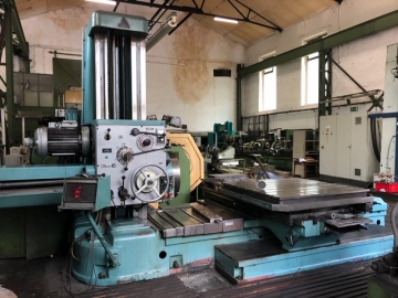 Horizontal boring and milling machines - 3 Axis