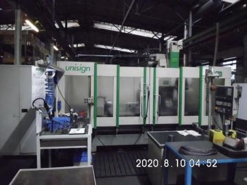 CNC machining center - horizontal - 4 axis
