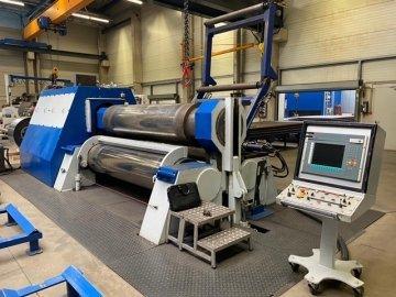 CNC - Sheet metal bending machine - 3 rolls