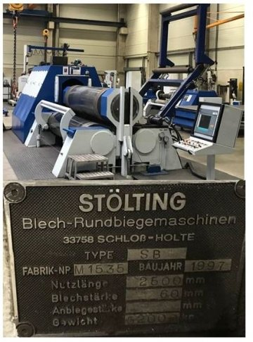 CNC Sheet metal bending machine - 3 rolls
