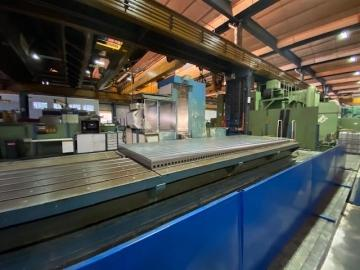 CNC - travelling column milling and drilling center - horizontal