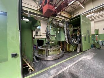 CNC gear hobbing machine - 5 Axis - vertical