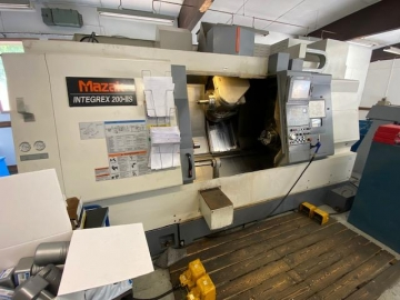 CNC turning and milling center - 6 Axis