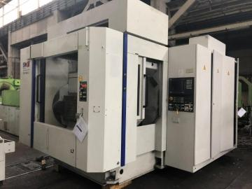 CNC machining center-horizontal-double-spindle-4 Axis