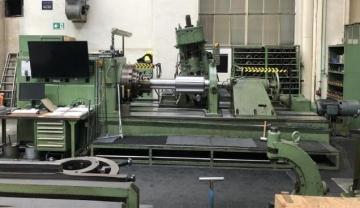 Pinion and wheel milling machine