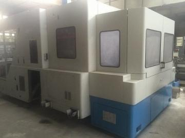 CNC machining center - horizontal - 3 axis