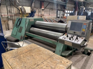 Four roll bending machine